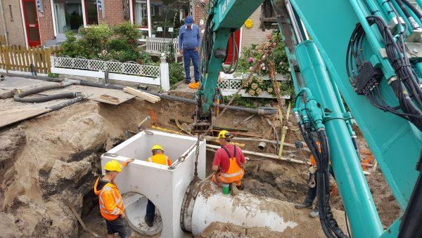 Aanleg riool Boerenburg Fase 4 Noordwijk