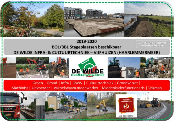 2019-2020 | BOL/BBL Stageplaatsen beschikbaar